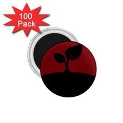 Plant Last Plant Red Nature Last 1 75  Magnets (100 Pack)