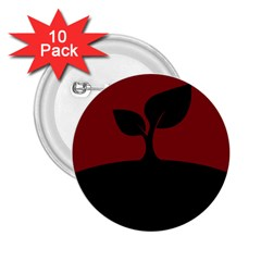 Plant Last Plant Red Nature Last 2 25  Buttons (10 Pack)  by Nexatart