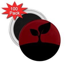 Plant Last Plant Red Nature Last 2 25  Magnets (100 Pack)