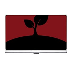 Plant Last Plant Red Nature Last Business Card Holders by Nexatart