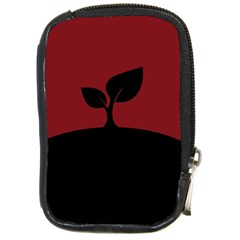 Plant Last Plant Red Nature Last Compact Camera Cases by Nexatart