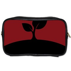 Plant Last Plant Red Nature Last Toiletries Bags 2 Side by Nexatart