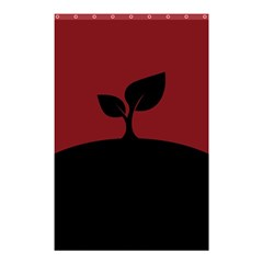 Plant Last Plant Red Nature Last Shower Curtain 48  X 72  (small)  by Nexatart