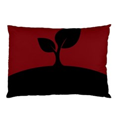 Plant Last Plant Red Nature Last Pillow Case (two Sides) by Nexatart