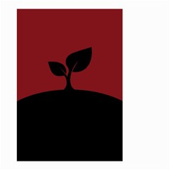 Plant Last Plant Red Nature Last Small Garden Flag (two Sides) by Nexatart