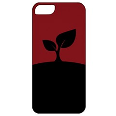 Plant Last Plant Red Nature Last Apple Iphone 5 Classic Hardshell Case