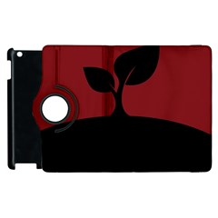 Plant Last Plant Red Nature Last Apple Ipad 2 Flip 360 Case