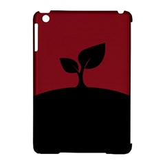 Plant Last Plant Red Nature Last Apple Ipad Mini Hardshell Case (compatible With Smart Cover) by Nexatart