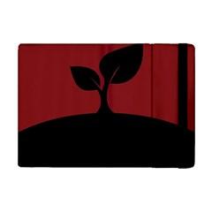 Plant Last Plant Red Nature Last Ipad Mini 2 Flip Cases by Nexatart