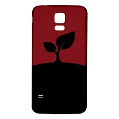 Plant Last Plant Red Nature Last Samsung Galaxy S5 Back Case (white)