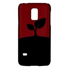 Plant Last Plant Red Nature Last Galaxy S5 Mini by Nexatart