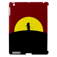 Samurai Warrior Japanese Sword Apple Ipad 3/4 Hardshell Case (compatible With Smart Cover) by Nexatart