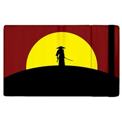Samurai Warrior Japanese Sword Apple Ipad 3/4 Flip Case by Nexatart