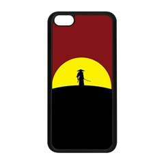 Samurai Warrior Japanese Sword Apple Iphone 5c Seamless Case (black)
