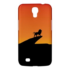 Lion Sunset Wildlife Animals King Samsung Galaxy Mega 6 3  I9200 Hardshell Case by Nexatart