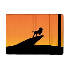 Lion Sunset Wildlife Animals King Ipad Mini 2 Flip Cases