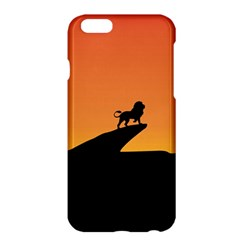 Lion Sunset Wildlife Animals King Apple Iphone 6 Plus/6s Plus Hardshell Case