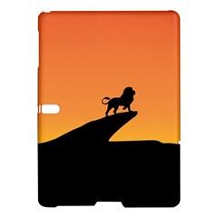 Lion Sunset Wildlife Animals King Samsung Galaxy Tab S (10 5 ) Hardshell Case