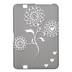 Flower Heart Plant Symbol Love Kindle Fire Hd 8 9  by Nexatart
