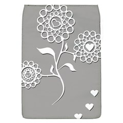 Flower Heart Plant Symbol Love Flap Covers (s)  by Nexatart