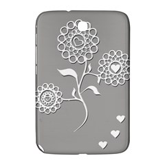Flower Heart Plant Symbol Love Samsung Galaxy Note 8 0 N5100 Hardshell Case