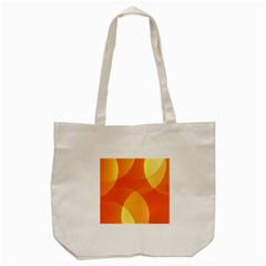 Abstract Orange Yellow Red Color Tote Bag (cream) by Nexatart