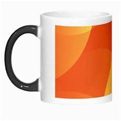 Abstract Orange Yellow Red Color Morph Mugs by Nexatart