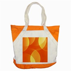 Abstract Orange Yellow Red Color Accent Tote Bag by Nexatart