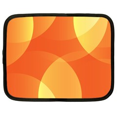 Abstract Orange Yellow Red Color Netbook Case (xxl)  by Nexatart
