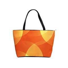 Abstract Orange Yellow Red Color Shoulder Handbags by Nexatart