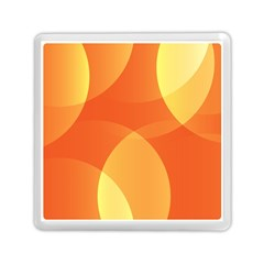 Abstract Orange Yellow Red Color Memory Card Reader (square)  by Nexatart