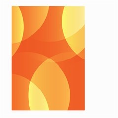 Abstract Orange Yellow Red Color Large Garden Flag (two Sides) by Nexatart