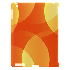 Abstract Orange Yellow Red Color Apple Ipad 3/4 Hardshell Case (compatible With Smart Cover)
