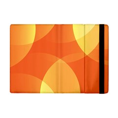 Abstract Orange Yellow Red Color Apple Ipad Mini Flip Case by Nexatart
