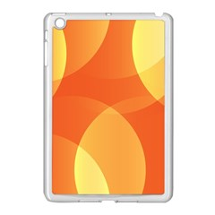 Abstract Orange Yellow Red Color Apple Ipad Mini Case (white) by Nexatart
