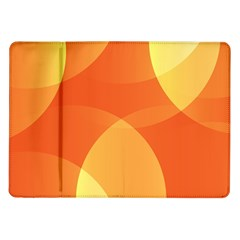 Abstract Orange Yellow Red Color Samsung Galaxy Tab 10 1  P7500 Flip Case by Nexatart