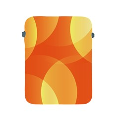 Abstract Orange Yellow Red Color Apple Ipad 2/3/4 Protective Soft Cases by Nexatart