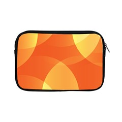 Abstract Orange Yellow Red Color Apple Ipad Mini Zipper Cases by Nexatart