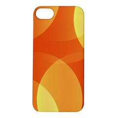 Abstract Orange Yellow Red Color Apple Iphone 5s/ Se Hardshell Case by Nexatart