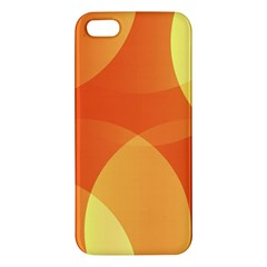 Abstract Orange Yellow Red Color Iphone 5s/ Se Premium Hardshell Case by Nexatart