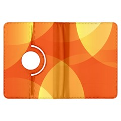 Abstract Orange Yellow Red Color Kindle Fire Hdx Flip 360 Case