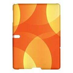 Abstract Orange Yellow Red Color Samsung Galaxy Tab S (10 5 ) Hardshell Case  by Nexatart