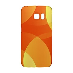 Abstract Orange Yellow Red Color Galaxy S6 Edge