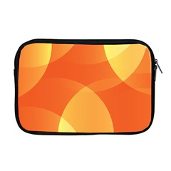 Abstract Orange Yellow Red Color Apple Macbook Pro 17  Zipper Case by Nexatart