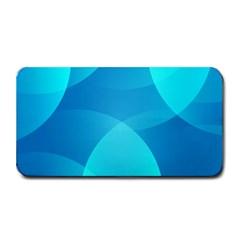 Abstract Blue Wallpaper Wave Medium Bar Mats by Nexatart