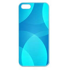 Abstract Blue Wallpaper Wave Apple Seamless Iphone 5 Case (color) by Nexatart