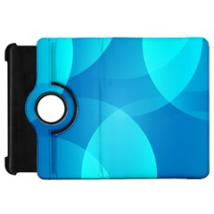 Abstract Blue Wallpaper Wave Kindle Fire Hd 7  by Nexatart