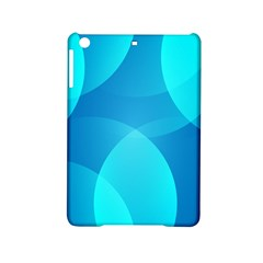 Abstract Blue Wallpaper Wave Ipad Mini 2 Hardshell Cases by Nexatart