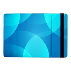 Abstract Blue Wallpaper Wave Samsung Galaxy Tab Pro 10 1  Flip Case