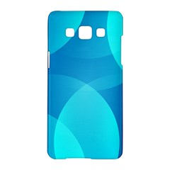 Abstract Blue Wallpaper Wave Samsung Galaxy A5 Hardshell Case